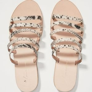 NWT | Anthropologie Juliet Slide Sandals